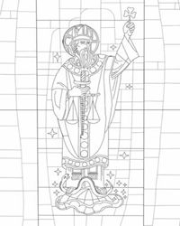 6 different st patrick coloring pages to choose from - St Patrick Coloring Page Catholic