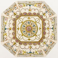 Cieling for Lady Coventry's Octagon Dressg Room / in Piccadilly