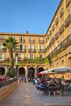 New Square. Bilbao. Vizcaya. País Vasco. Spain. To learn more about Bilbao   Rioja, click here: http://www.greatwinecapitals.com/capitals/bilbao-rioja