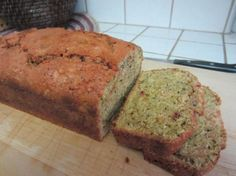 Blueberry Beet Bread - made without the blueberries and used canned beets because I'm lazy, worked great!