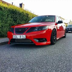 Saab hate red but thats sweet Saab 9 3 Aero, Saab Automobile, Saab 900, Sport Cars, Concept Cars, Motor Car, Corvette, Volvo, Cars And Motorcycles