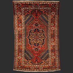 Persian Rug Bakhtiar antique Iran / Persia 6.7 by Bohemianrugstore