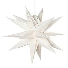 MORAVIAN STAR Paper Pendant #holiday