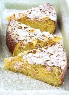 Citrus and almonds is a very popular pairing, elevated by the inclusion of ricotta. Lemon Ricotta Cake is proof of this delicious matchup. ideas Lemon Ricotta Cake with Almonds Food Cakes, Cupcake Cakes, Cupcakes, Cake Cookies, Lemon Recipes, Sweet Recipes, Baking Recipes, Bake Off Recipes, Just Desserts