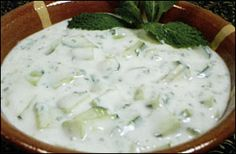 Yogurt Cucumber Salad - Lebanese