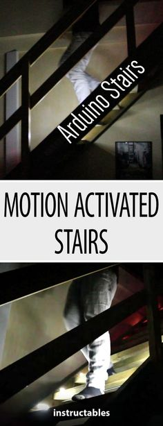 Arduino Motion Activated Stairs