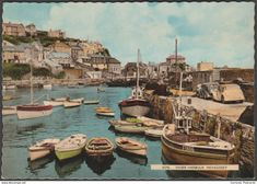 Inner Harbour, Mevagissey, Cornwall, 1961 - Harvey Barton Postcard