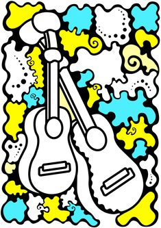 Soul of Guitars by GrievousGB on DeviantArt Bart Simpson, Guitars, Snoopy, Deviantart, Fictional Characters, Fantasy Characters, Guitar