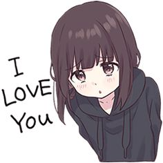 LINE Stickers Menhera-chan.Animation 2 EN,joynet,Look at me! Please use a lot. Anime Neko, Kawaii Anime Girl, Chica Gato Neko Anime, Manga Kawaii, Kawaii Chan, Loli Kawaii, Cute Anime Chibi, Cute Anime Pics, Anime Girl Cute