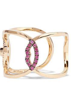 Delfina Delettrez - 18-karat Gold Multi-stone Ring - 6