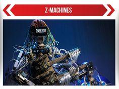 'Z Machines', la banda de Robots