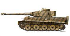 Тигр - 1 из 1 т.д SS 13 роты Лейбштандр Адольф Гитлер. Курская дуга 1943 год.