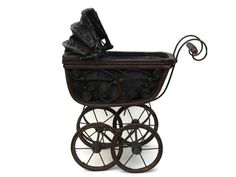 ON SALE 15%OFF Antique Doll Carriage. Victorian by LeBonheurDuJour
