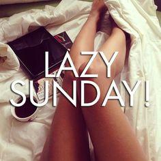 Domenica pigrissima! Lazy Sunday!