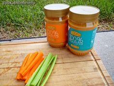 (Gluten-free, dairy-free, no refined sugar) Peanut Butter Snacks, Cook At Home, Tray Bakes, Baking Soda, Dairy Free, Carrots, Gluten, Vegetarian, Sugar