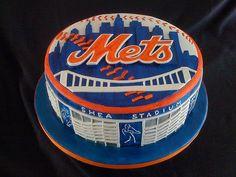 Mets Cake-Groom's Cake