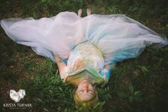 Trash the Dress photo shoot with holi powder
