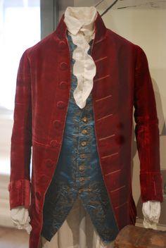 John Hancock's suit ca. 1760-1780