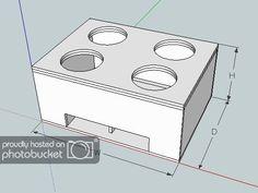 Box design for 4 Custom Speaker Boxes, Speaker Box Design, Custom Boxes, Custom Subwoofer Box, Subwoofer Box Design, Custom Car Audio, Custom Cars, Sub Box Design, Ported Box