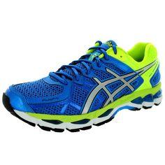 Asics Men's Gel-Kayano 21 Royal/Lightning/Flash Yellow Running Shoe