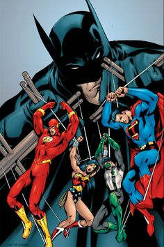 Batman has always been the puppet master of the DC Universe.