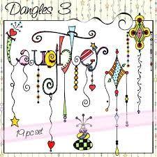 Image result for zentangle dangles