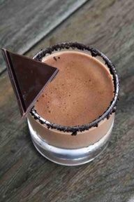 PRINTABLE Recipe Chocolate Margarita:  myhoneysplace.com...