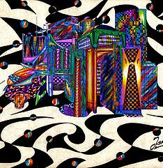 mysite | Color Art Wind Of Change, Color Art, Colorful Drawings, Women, Colourful Designs, Woman