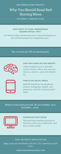 why read red herring news news. news