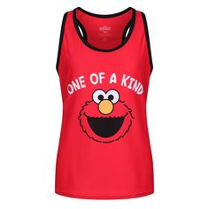 Our bright red Elmo 'One of a Kind' kids' vest is perfect for those cute and crazy characters in your life. Soft and supple to enhance flexibility and movement, it's also quick-drying to avoid damp skin.  Loved by both boys and girls, Elmo will get kids excited about an active lifestyle, from parkrun to gymnastics. Grown-ups can also get their very own awesome One of a Kind vest, as it's available in adult sizes too. Retro, sporty and full of fun! Kids Vest, Elmo, Gymnastics, Flexibility, Boys, Girls, Boy Or Girl, Athletic Tank Tops, Sporty