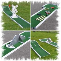 18. design and make my own miniature golf course