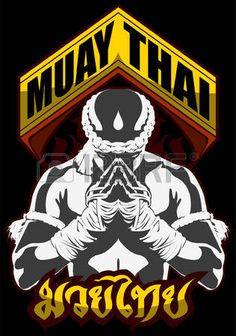 muay thai: muay thai fighter pray martial art Mais