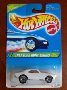 most exspensive T-HUNT OUT HERE IN THE HOT WHEEL WORLD! HOT WHEELS ★★★ 1995 TREASURE HUNT '67 CAMARO ★★★ LIMITED EDITION. I HAVE 2!
