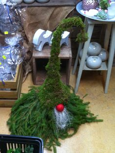 Г-жа Ларссон - вдохновение и творчество: Венки, julgrupper и домашнее животное в ели и мох