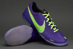 super popular ec8bd 6ac5f Nike Elastico Finale II - Pure Purple   Volt   Electric Green - Gary Owens -