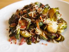 Fantastic as a side or entree - Roasted Brussels Sprouts Recipe