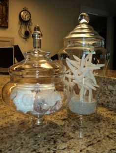 Beach Apothecary Jars