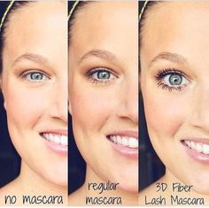 "The difference is the real deal, throw away that ""regular"" mascara.. Replace it with 3D!!! www.andreasbeautybar.com"