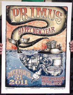Primus Poster Series - New Years Posters #P30 & P31 by Mr Bellyache.