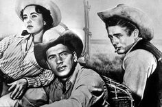 James Dean the Giant with Elizabeth Taylor and Rock Hudson