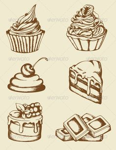 Vintage Cakes and Chocolate