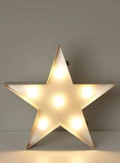 Star metal table lamp - Table Lamps - Home, Lighting & Furniture - BHS