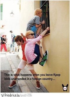 Never leave your K-Pop Idols unattended