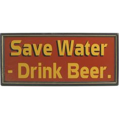 Funny Beer Signs - Home Bar Decor $20