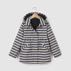 La Redoute Collections Big Girls Checked Pea Coat 3-12 Years