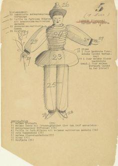 Oskar Schlemmer | Triadic Ballet Schlemmer's original costume designs