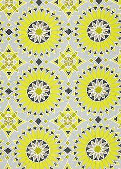 Trina Turk Fabric by the Yard Soleil LA Print  - kitchen throw pillows