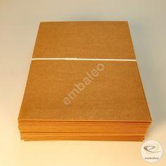 Sobre de cartón con apertura lateral A4 34 x 23,5 cm