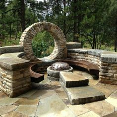 We create beautiful garden living spaces, for a concept fee never greater than Stone Landscaping, Backyard Landscaping, Earth Bag Homes, Moon Gate, Stone Masonry, Dry Stone, House On The Rock, Fire Pit Backyard, Garden Structures