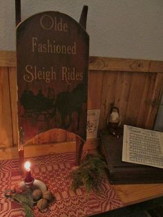 old fashioned sleigh ride sled by salmonfallsprims on Etsy, $59.00